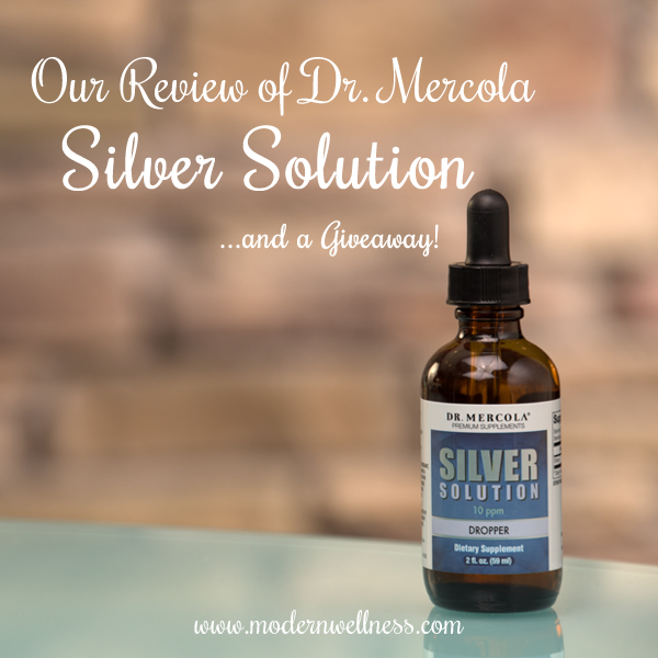 dr mercola silver solution review