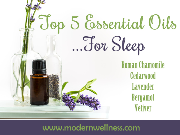 Top 5 Essential Oils for Sleep